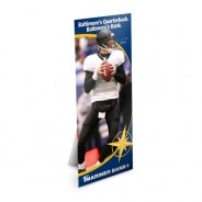 Joe Flacco shows up in all 1st Mariner Bank branches.