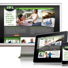 Fit 2 Go – Website