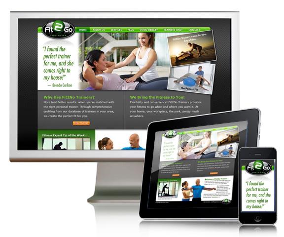 Fit 2 Go – Website