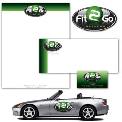 Fit 2 Go – Corporate Identity
