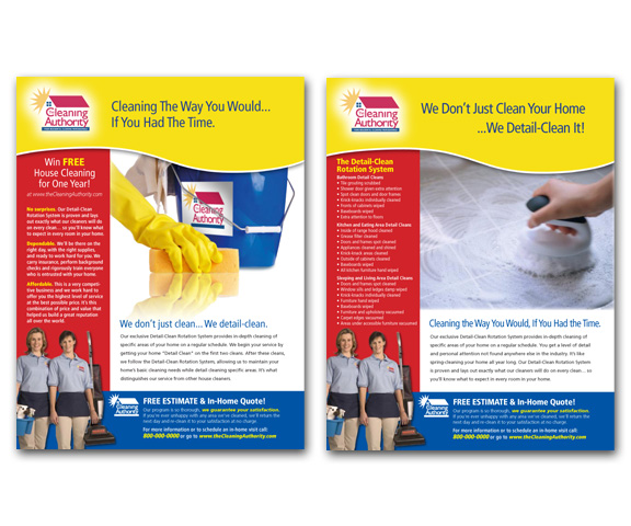Cleaning Authority Ads