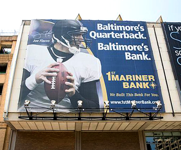 Joe Flacco Billboard