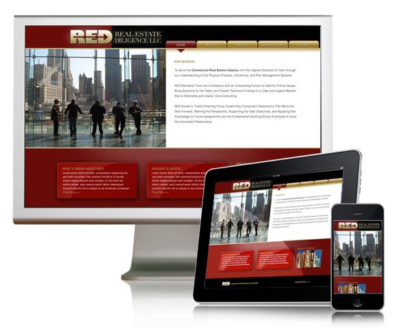 Real Estate Diligence Website