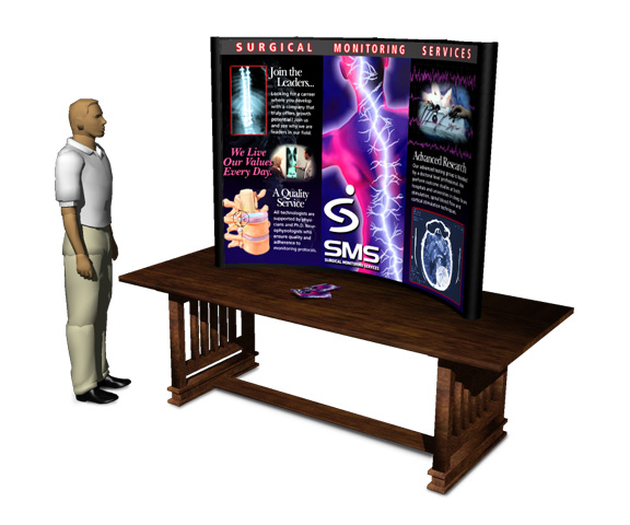 Surgical Monitoring Systems Display