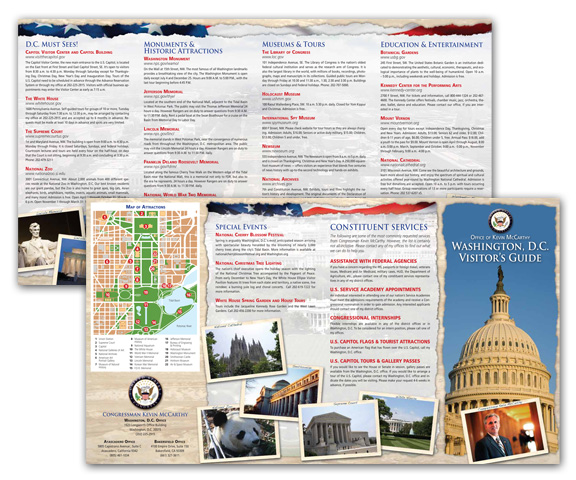 Washington DC Visitors' Guide