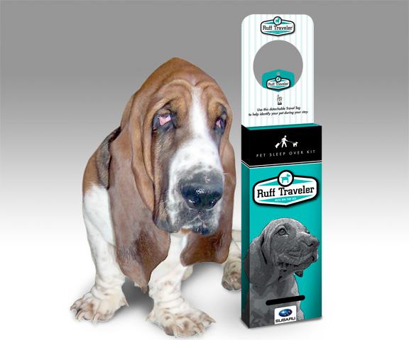 Ruff Traveler Product Design & Packaging