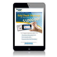 1st Mariner Bank – Checking Landing Page