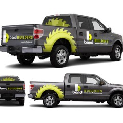Bond Builders Vehicle Wrap Graphics