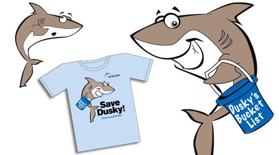 DPI Creates Dusky the Shark Character for Oceana